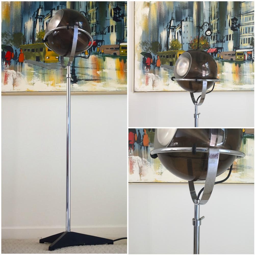 Frank Ligtelijn for RAAK globe floor lamp