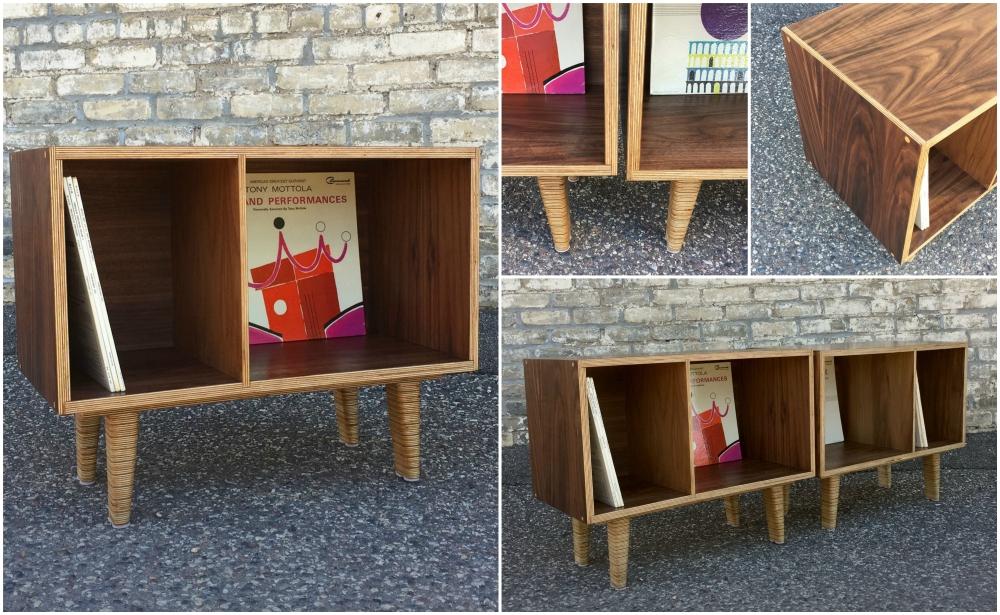Custom made LP cabinets - Minneapolis - woodworking
