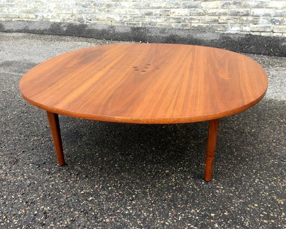 Drexel Declaration rounded coffee table - Stewart MacDougall and Kipp Stewart