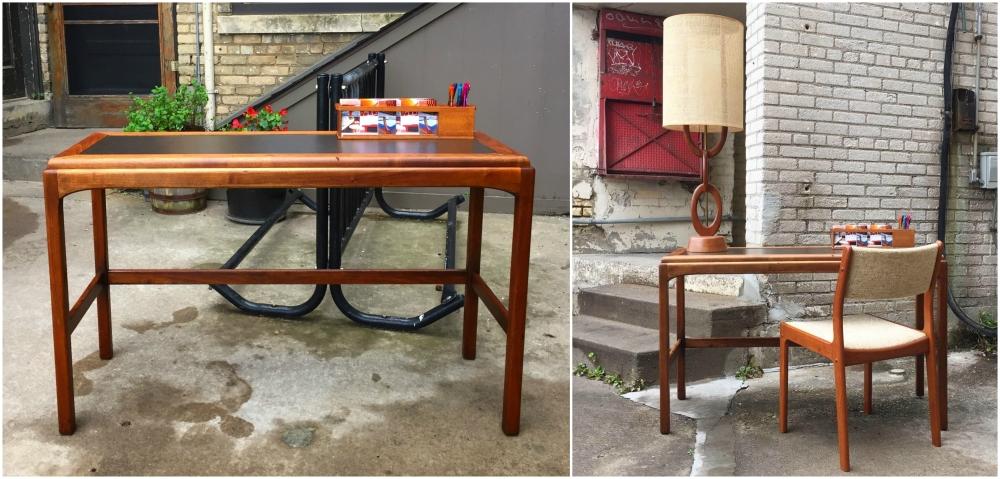Lane Furniture console table - walnut