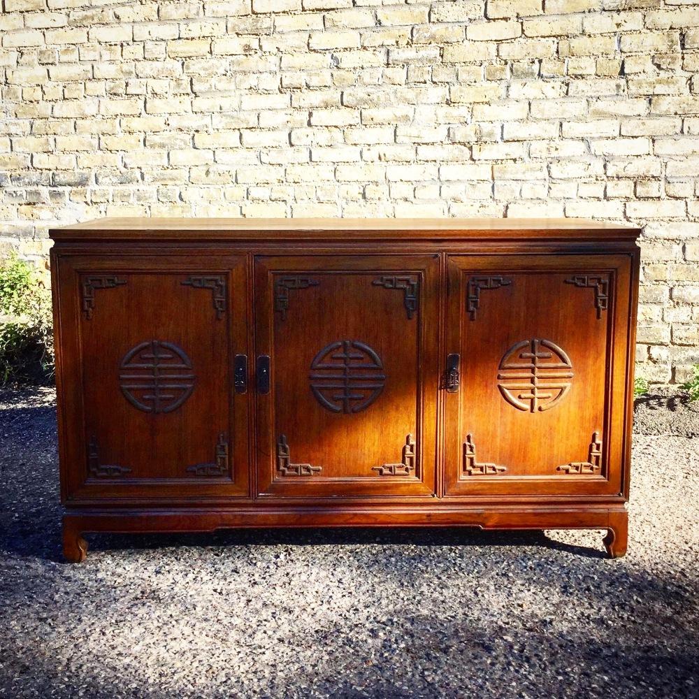 Vintage Asian styled sideboard - credenza