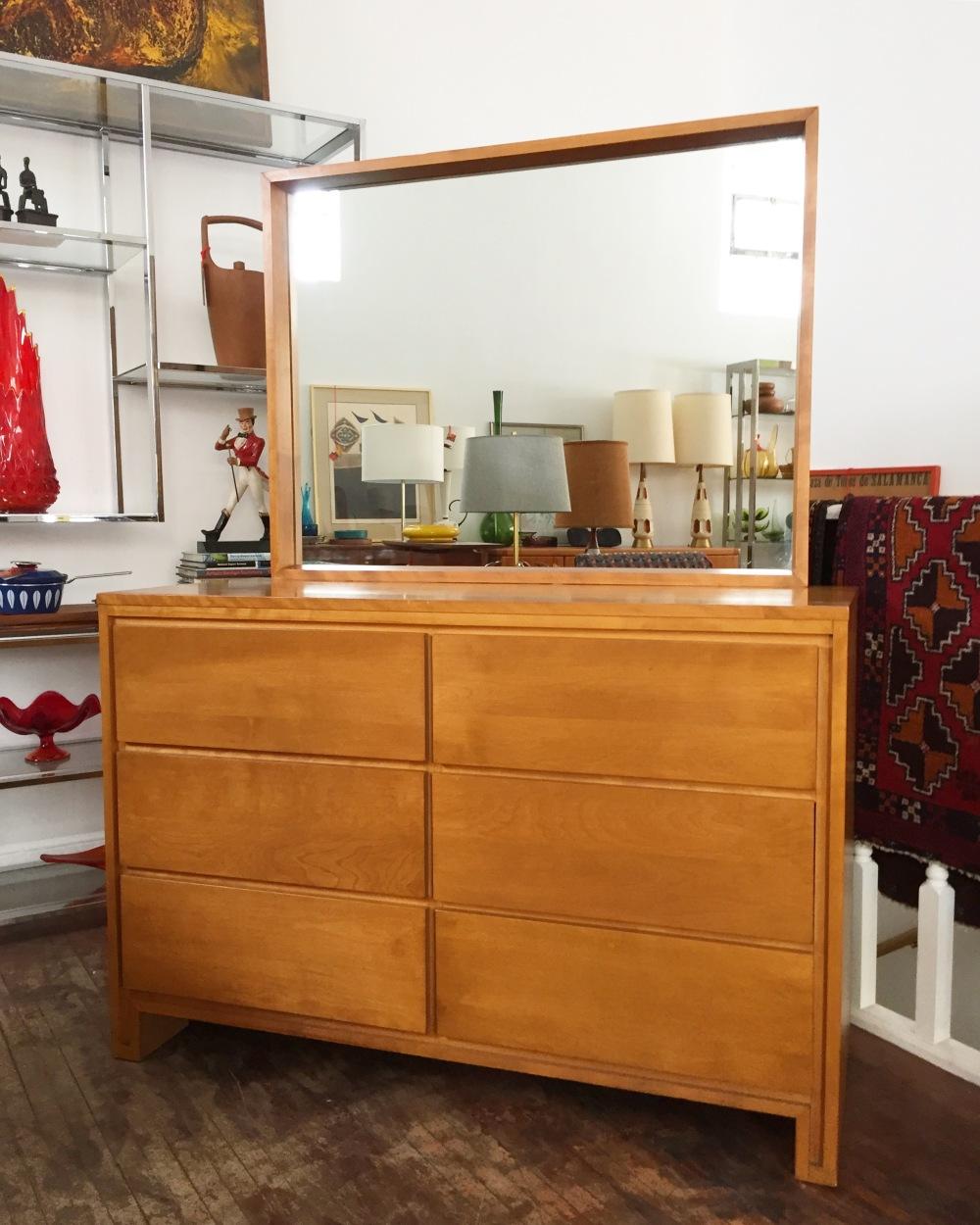 Conant Ball Modernmates dresser - Leslie Diamond - mid-century furniture