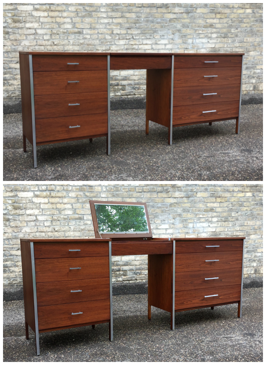 Paul McCobb - Calvin Group - vanity and chest set