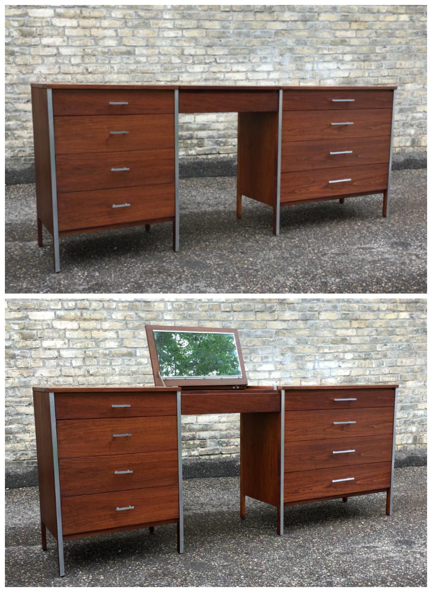 Paul McCobb - Calvin Group - vanity and chest set