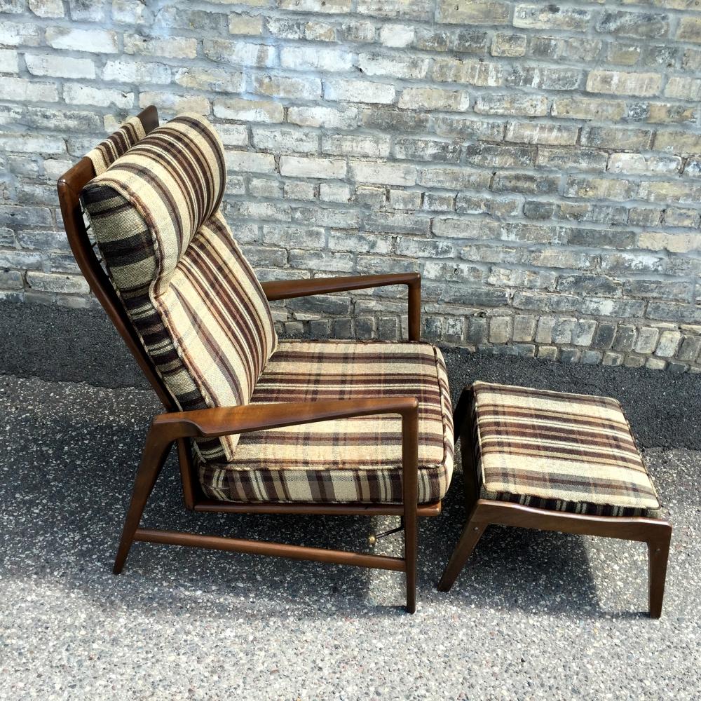 Ib Kofod Larsen recliner - Danish modern furniture