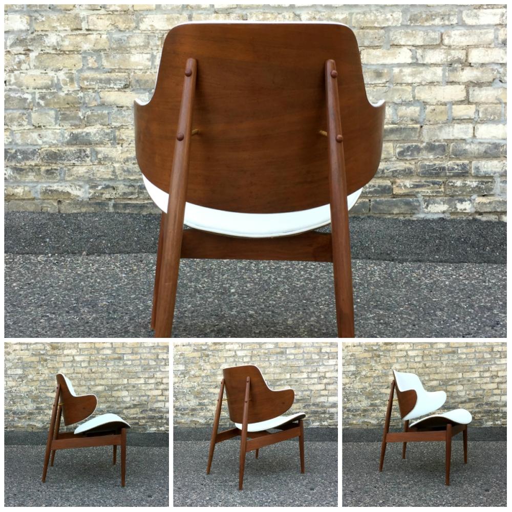 Kodawood arm chair - Seymour James Weiner - mid-century modern