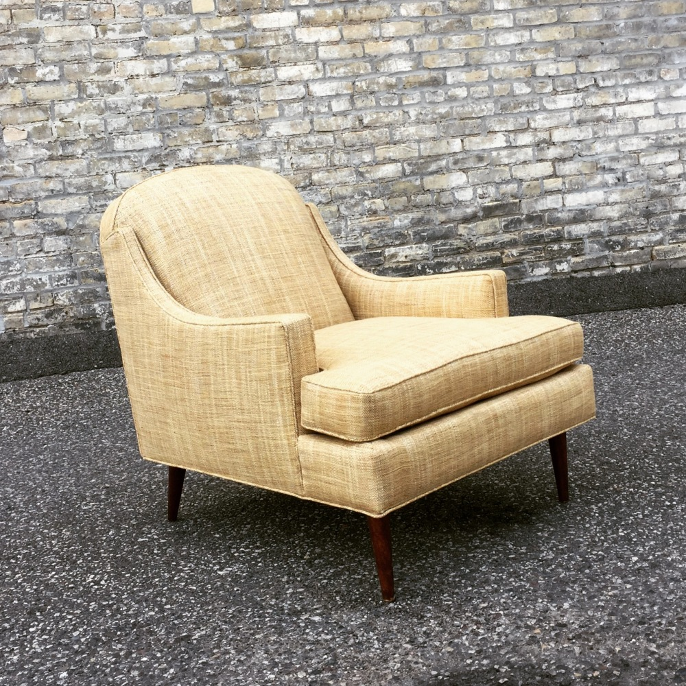 Mid-century Selig lounge chair - reupholstered