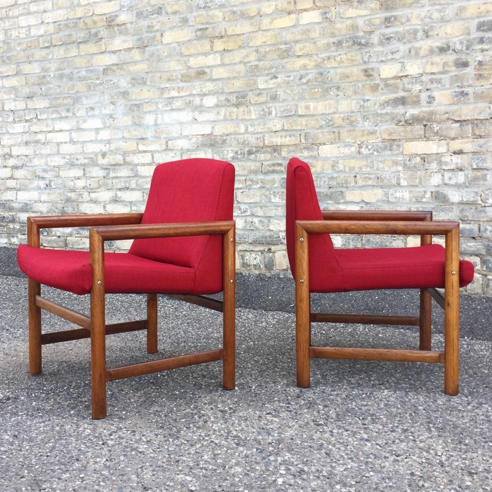 Rosewood chairs - Danish modern - mid-century modern