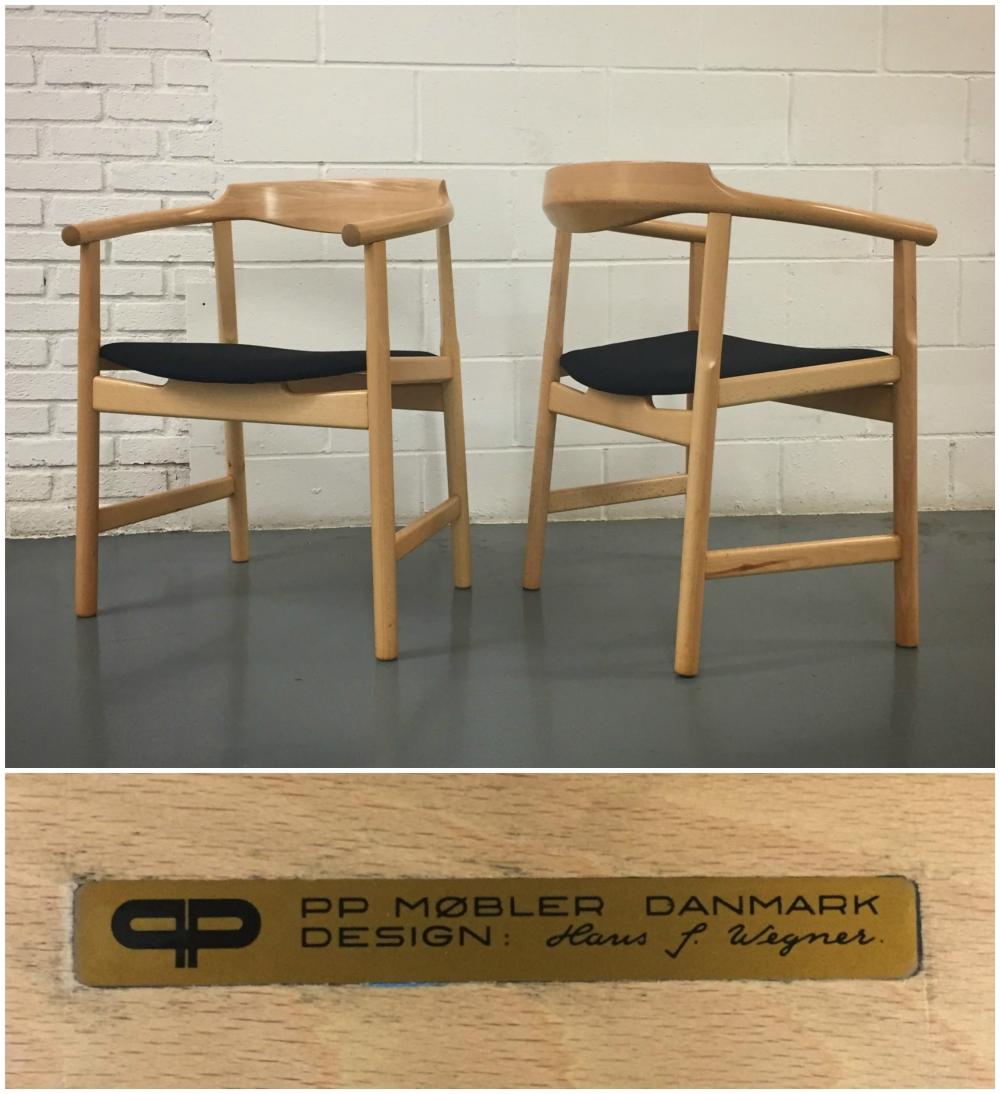 Hans Wegner PP-208 chairs - PP Mobler