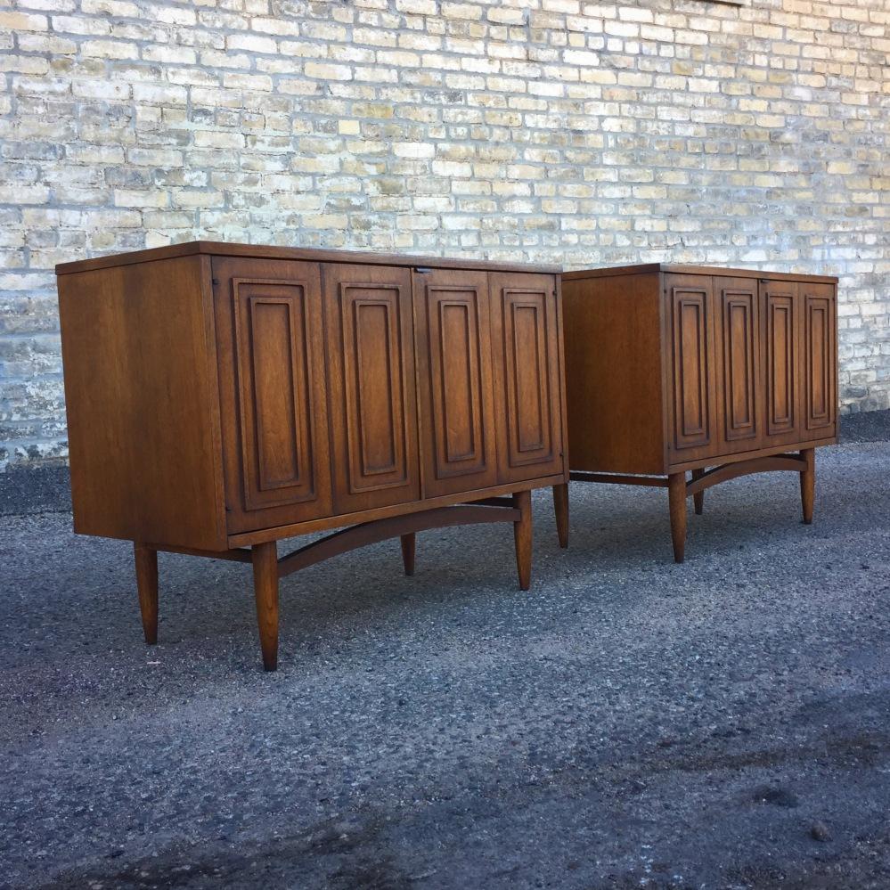 Broyhill Premier Sculptra cabinets - credenzas