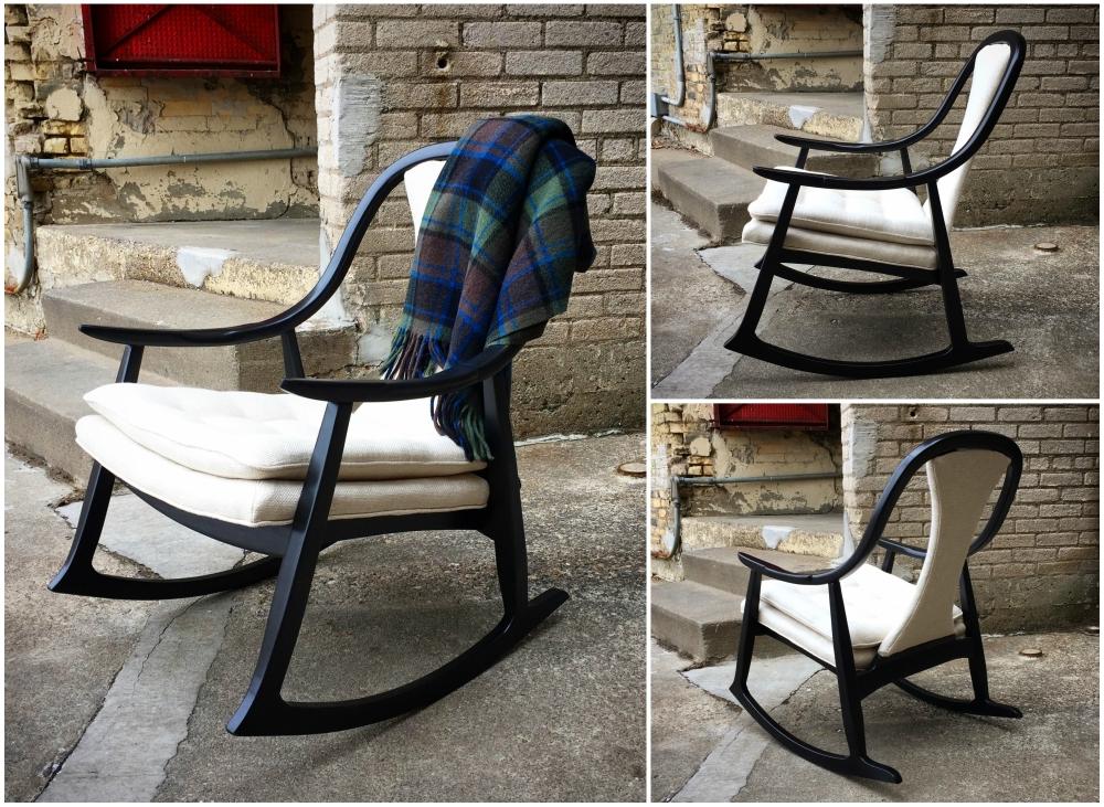 Mid-century rocking chair - Thomasville Furniture