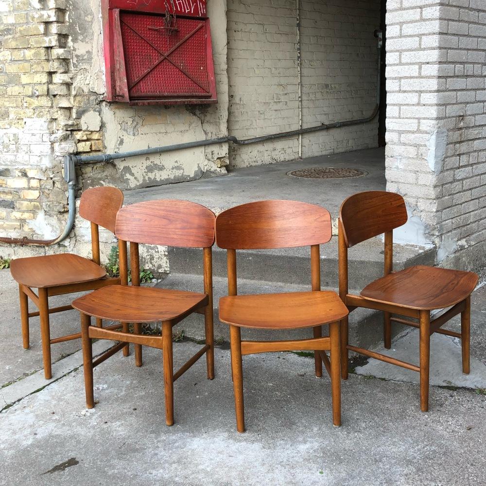 Borge Mogensen - Model 122 dining chair - Soborg Mobler