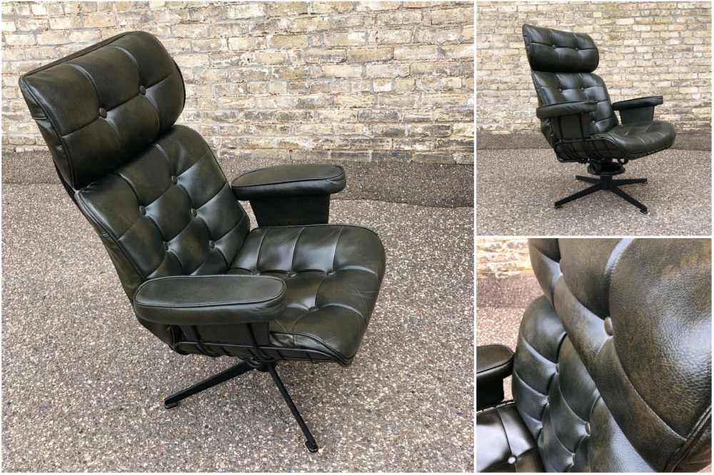 Vintage Homecrest lounge chair