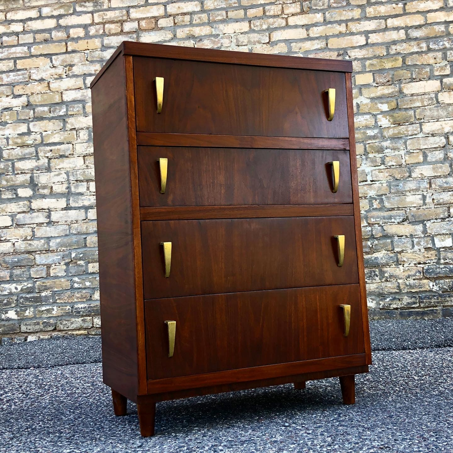 Vintage modern Harmony House chest of drawers