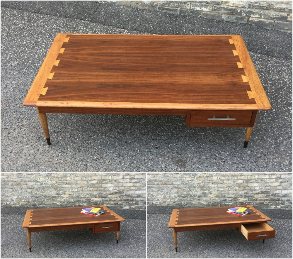 Lane Acclaim Plateau coffee table - 1959