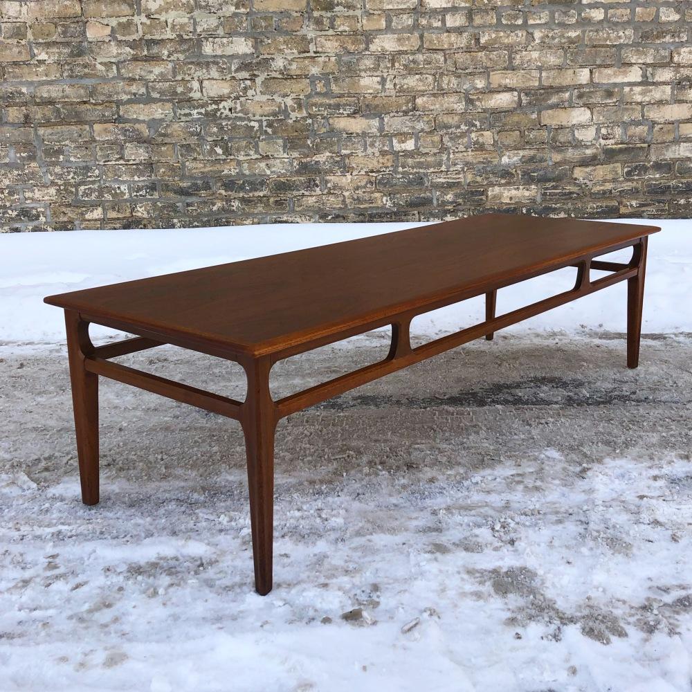 Mersman walnut coffee table - restored