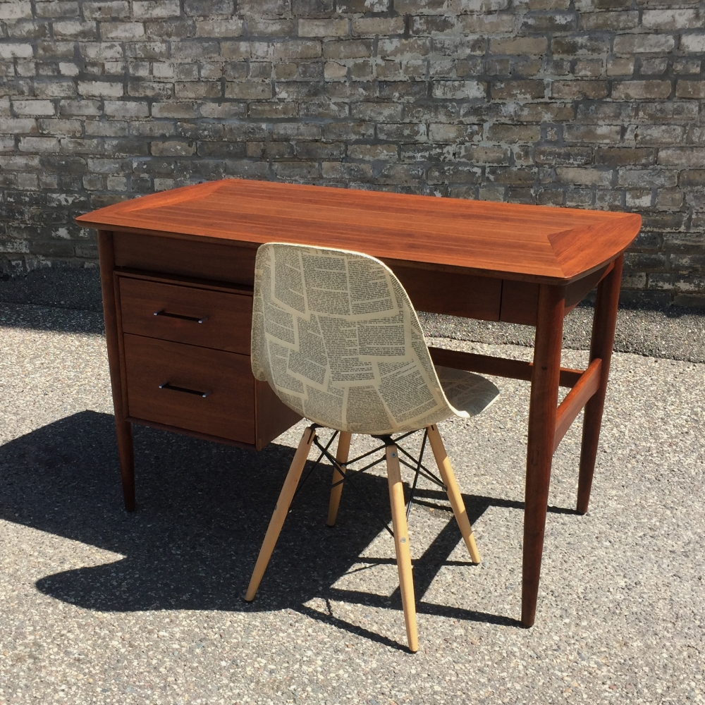 Ramseur walnut desk - restored