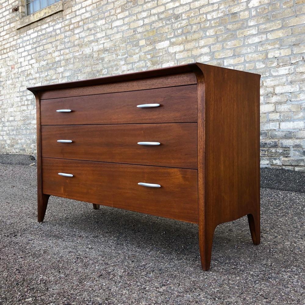 John Van Koert Drexel Profile three-drawer dresser
