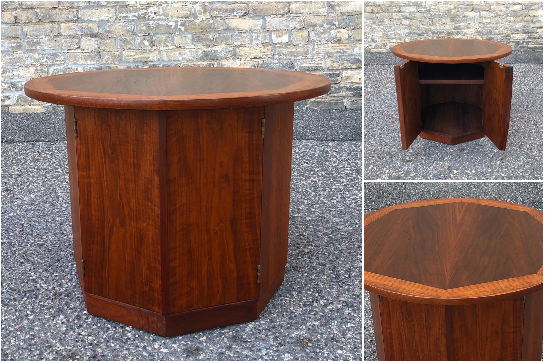 Jack Caartwright for Founders drum accent table
