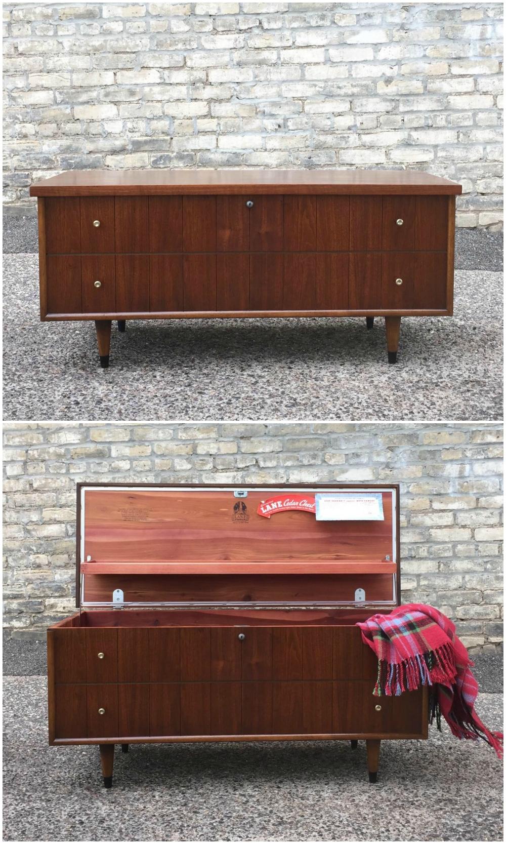 "Lane Furniture ""Princess"" cedar chest - circa 1959"