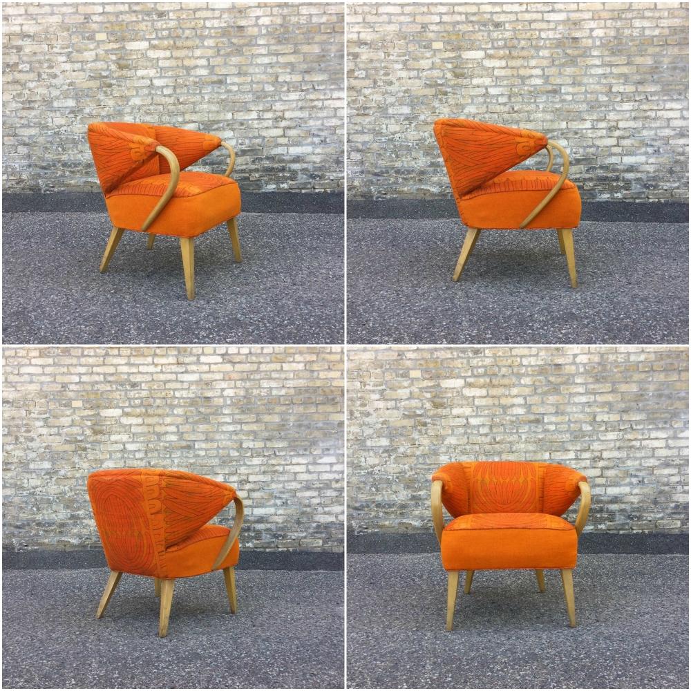 Heywood Wakefield Model M568C Ladies' Club Chair