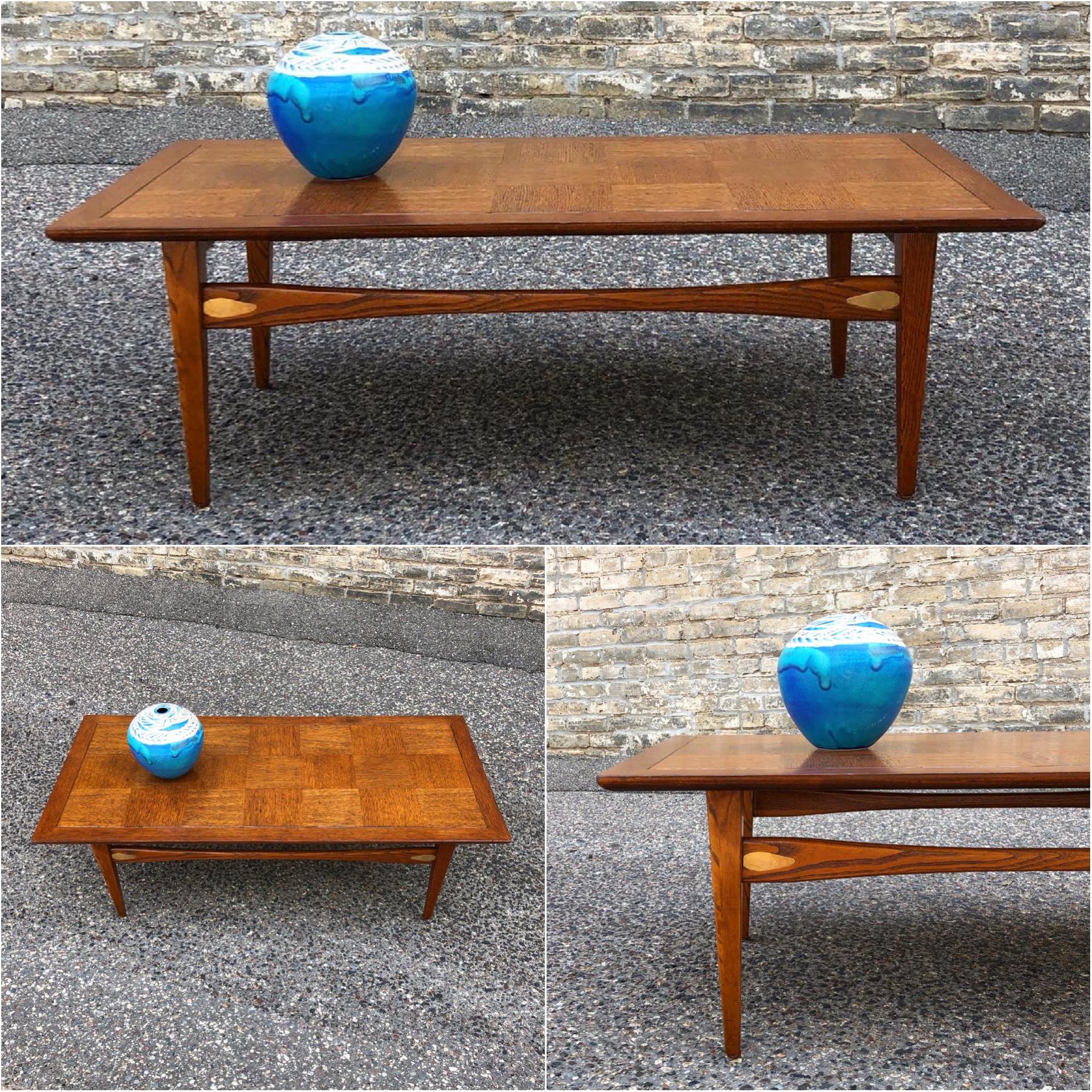 1957 Lane Furniture coffee table