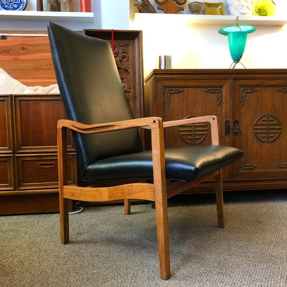 Drexel high back lounge chair - mid-century modern