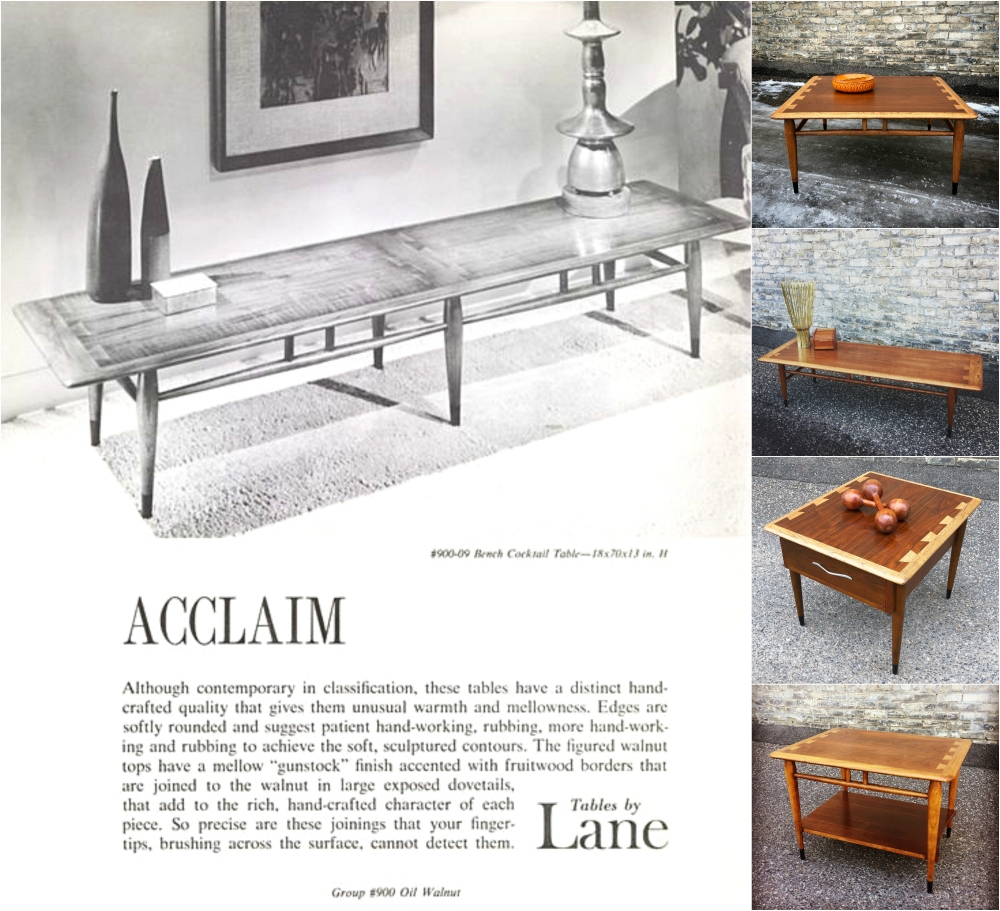 Lane Acclaim coffee and accent tables