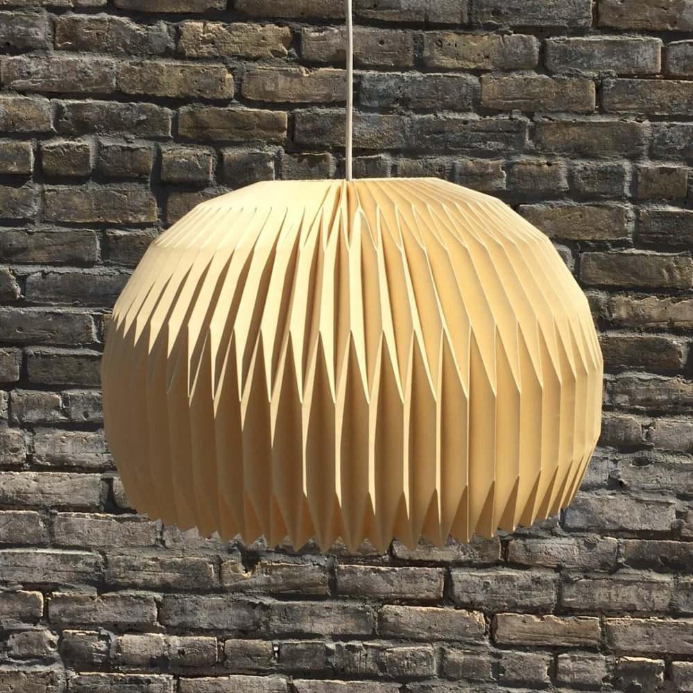 LE KLINT Model 47 folded paper pendant shade