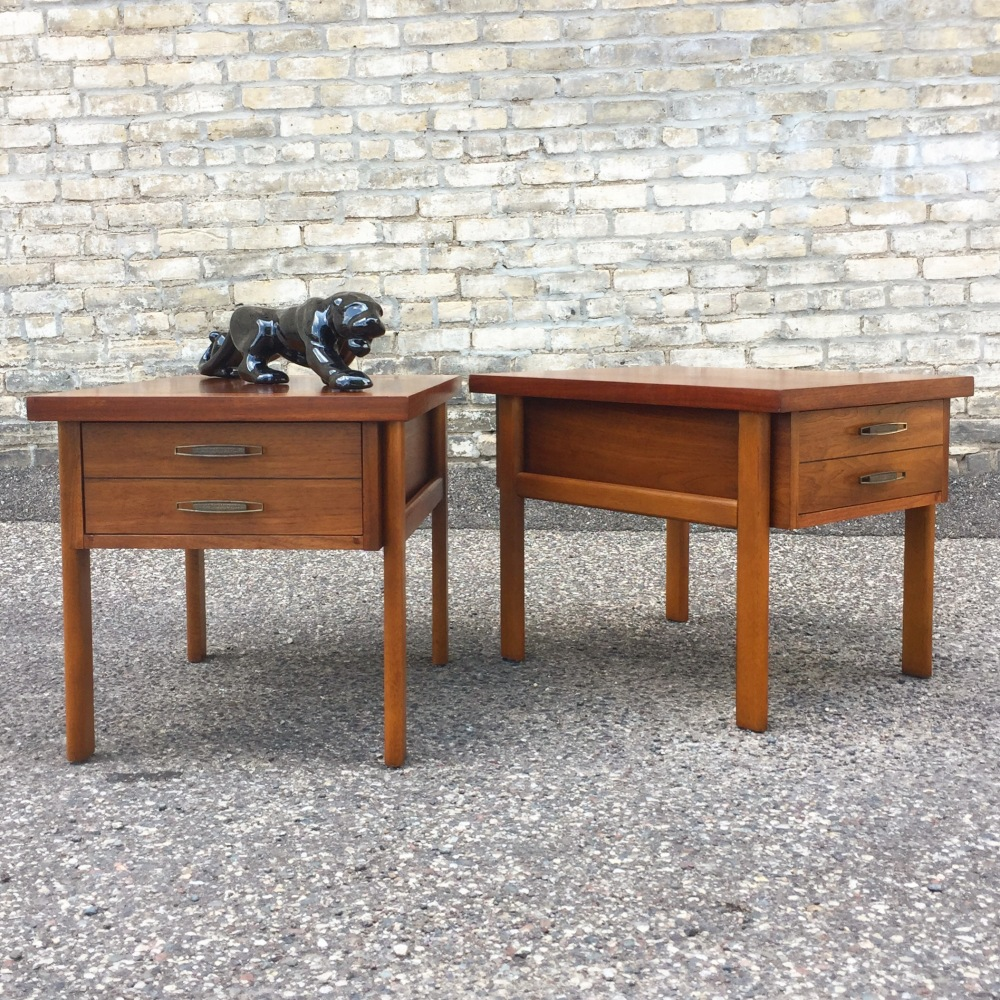 Lane Furniture accent tables 1960s - 1970s