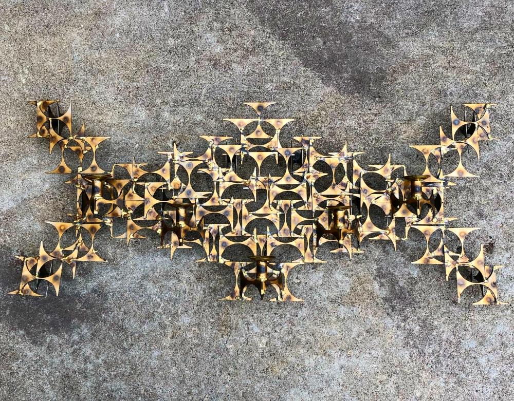 "Marc Creates brutalist wall sculpture titled ""Cuarto"""