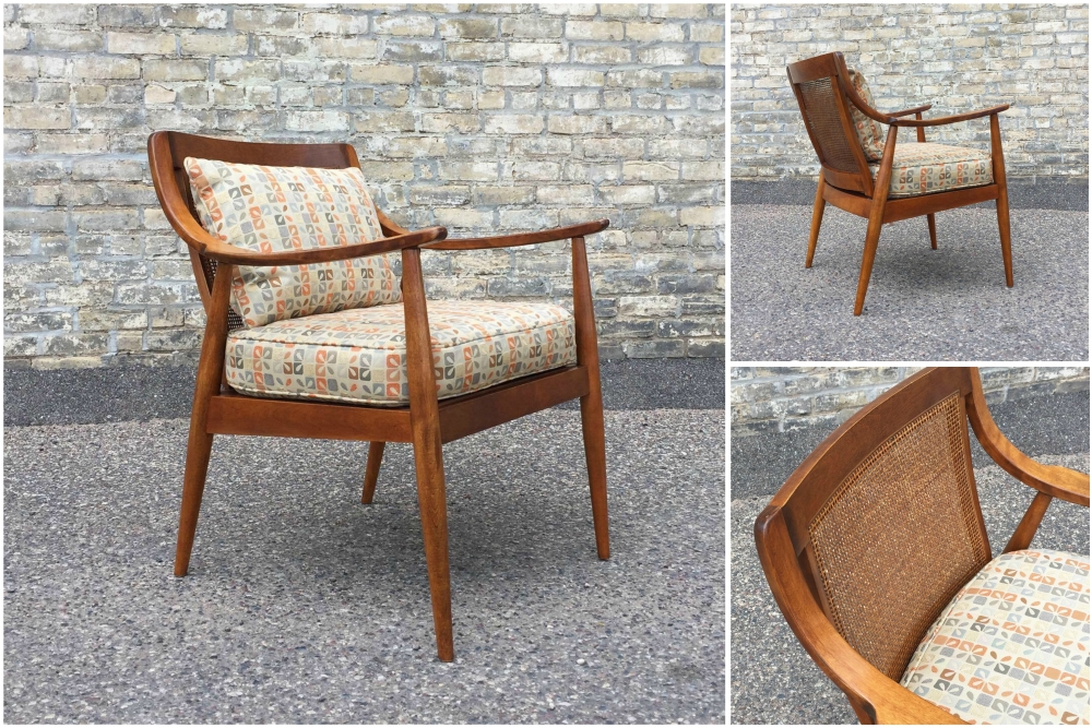 Tell City Chair Co. mid-century modern chair - Danish modern