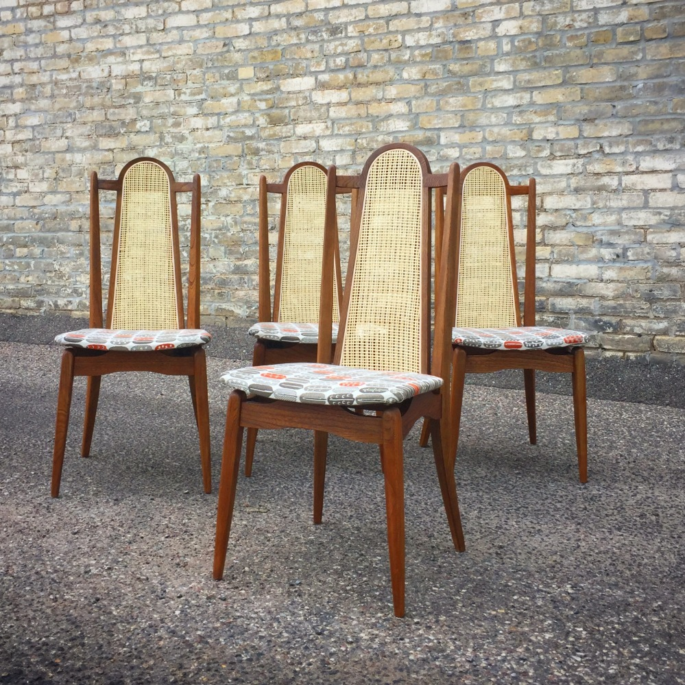 Stakmore dining chairs - restored