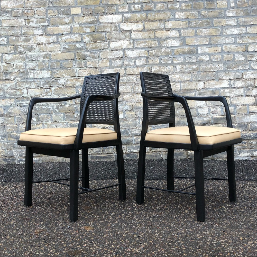 Edward Wormley for Dunbar Jsnus Collection arm chairs