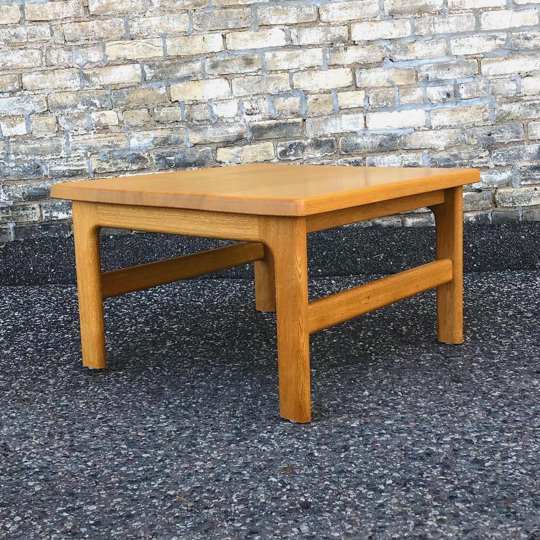 Niels Bach Danish oak coffee - accent table