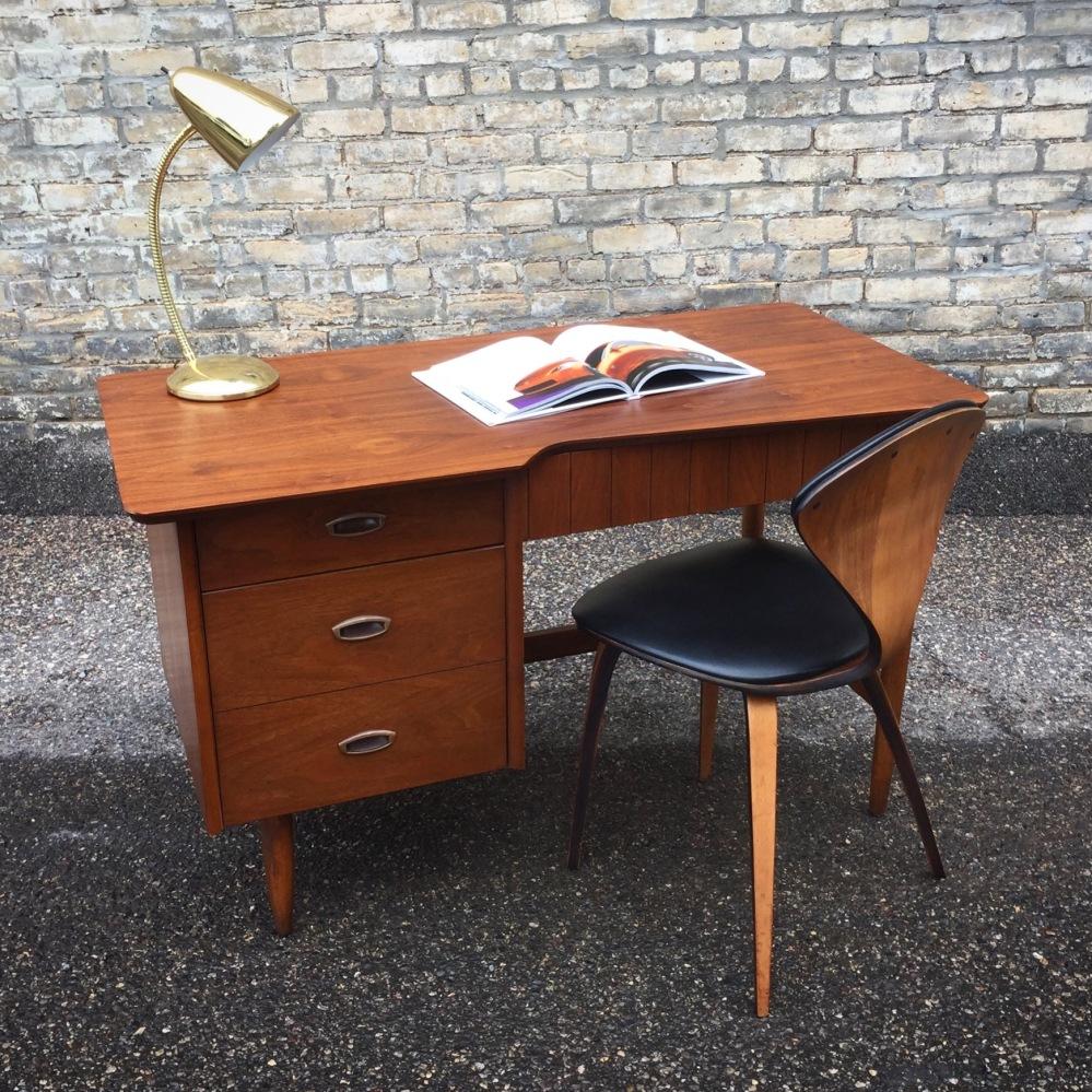 Hooker Mainline mid-century modern desk