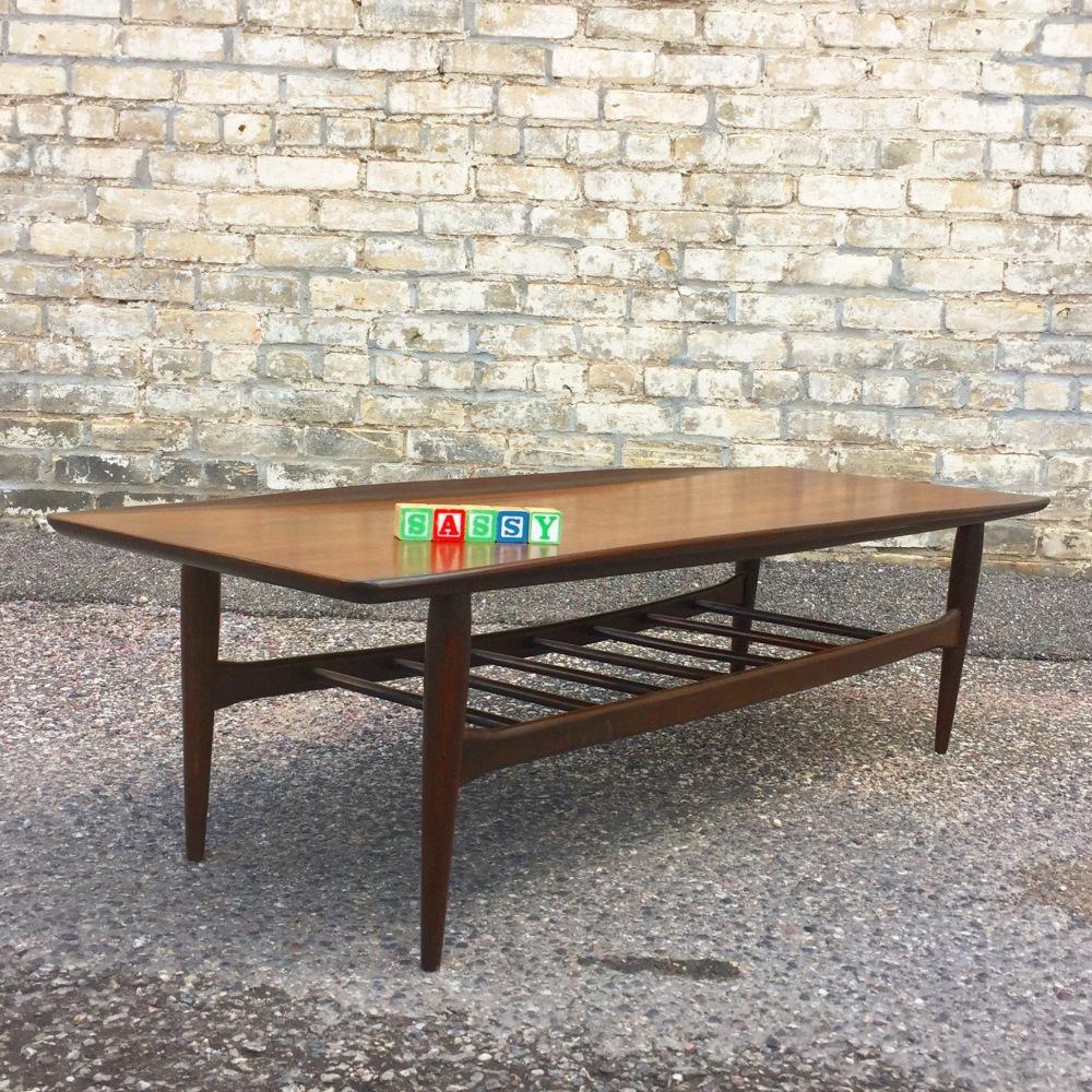 Bassett Furniture surfboard coffee table | Artisan